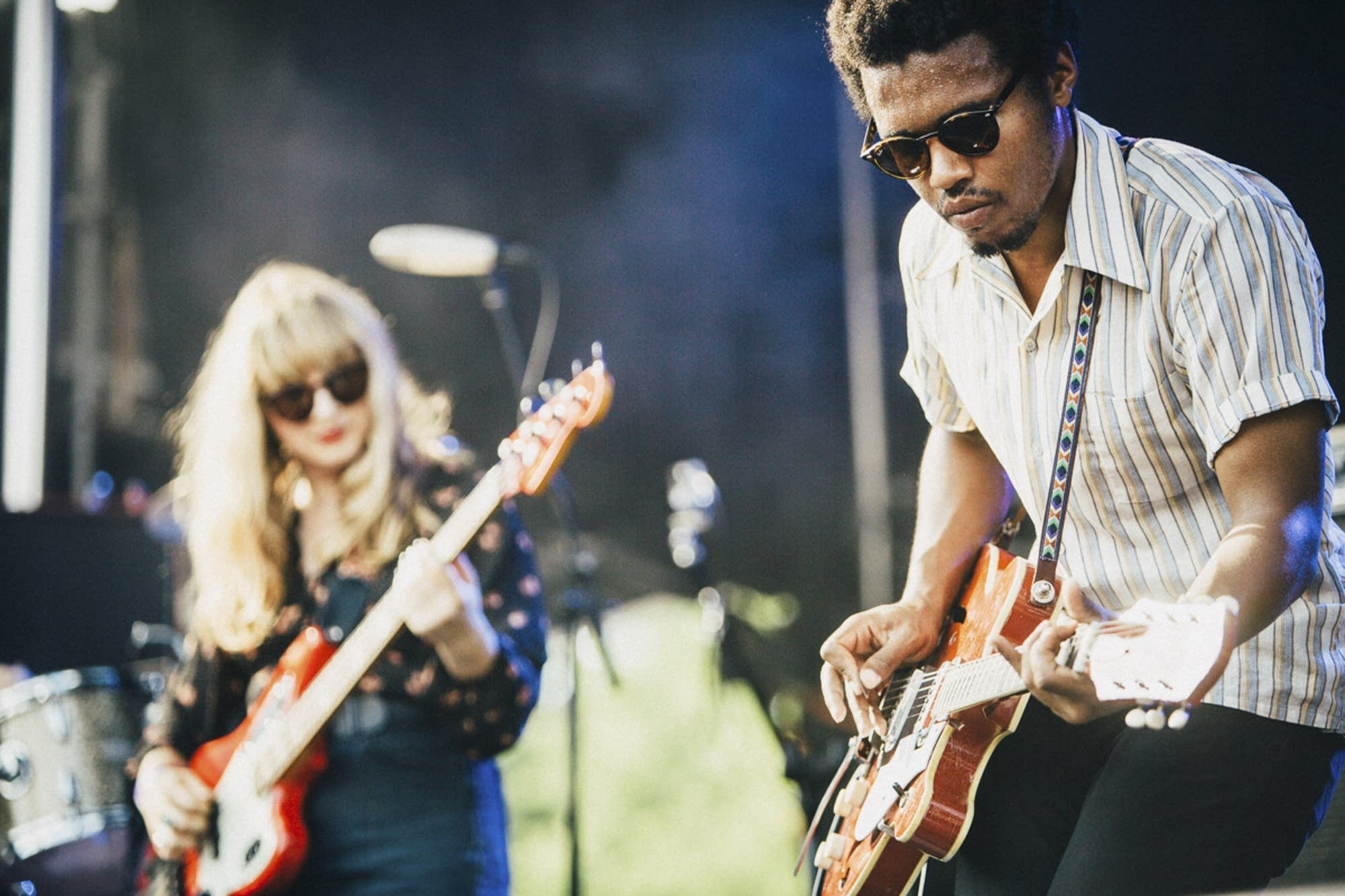 Benjamin Booker on the main stage.