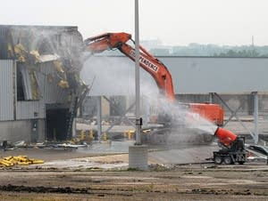 Demolition begins at the Ford plant in St. Paul