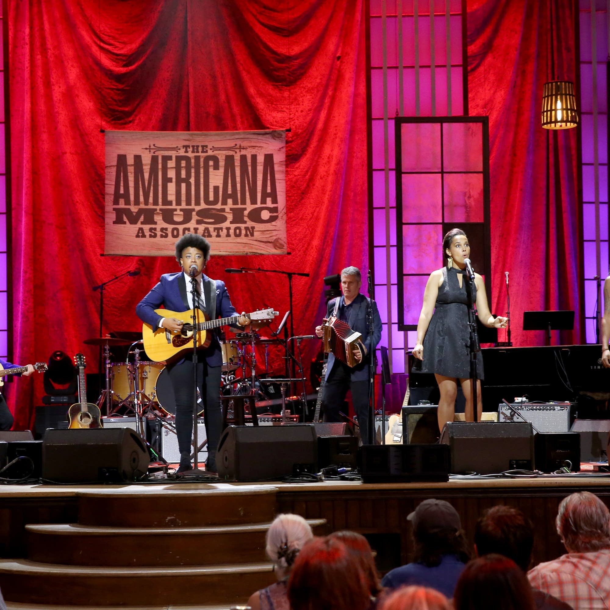 Our Native Daughters perform at the Americana Honors and Awards