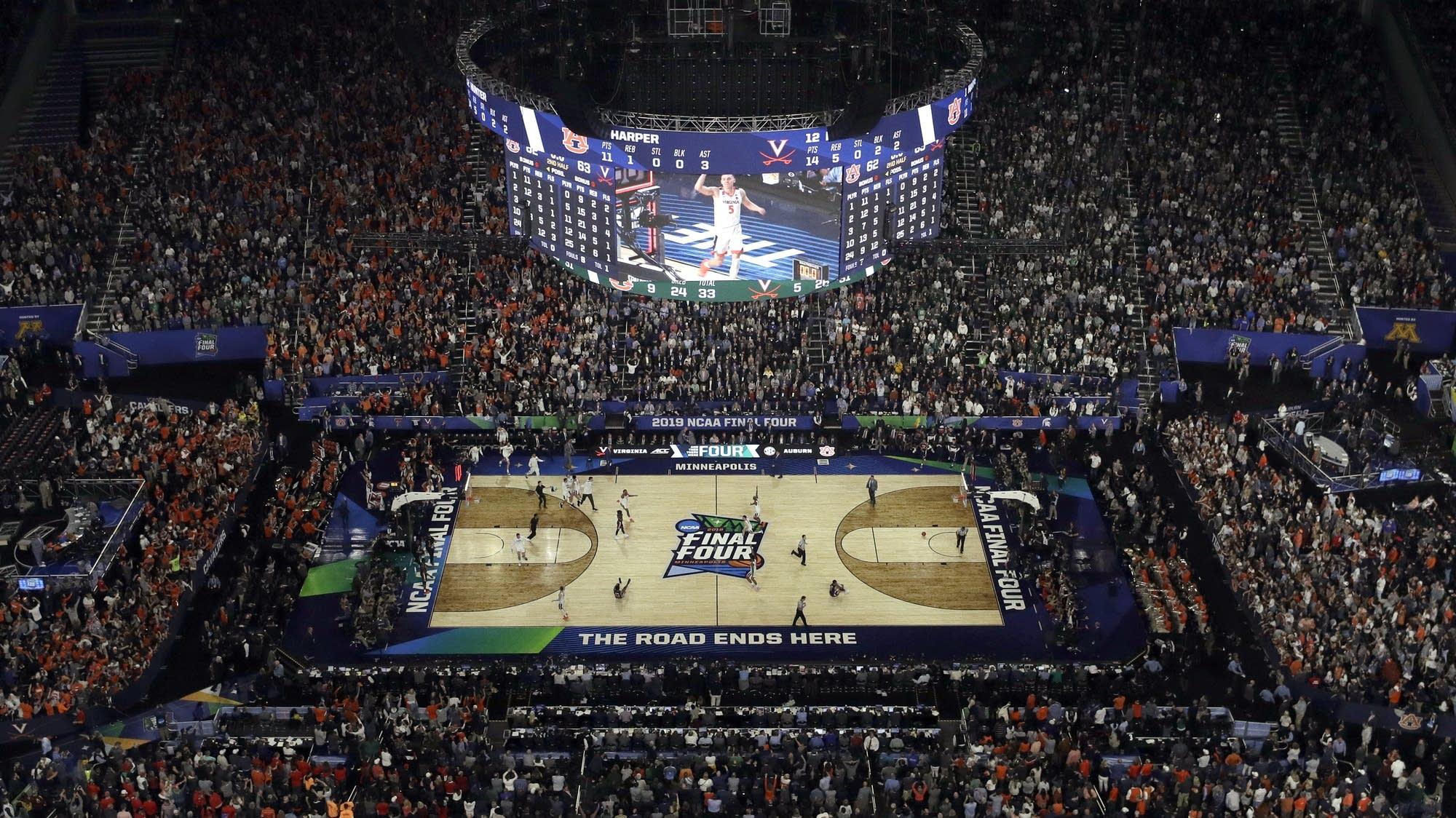 Ncaa Final Virginia Texas Tech Go For Their First National Titles Mpr News