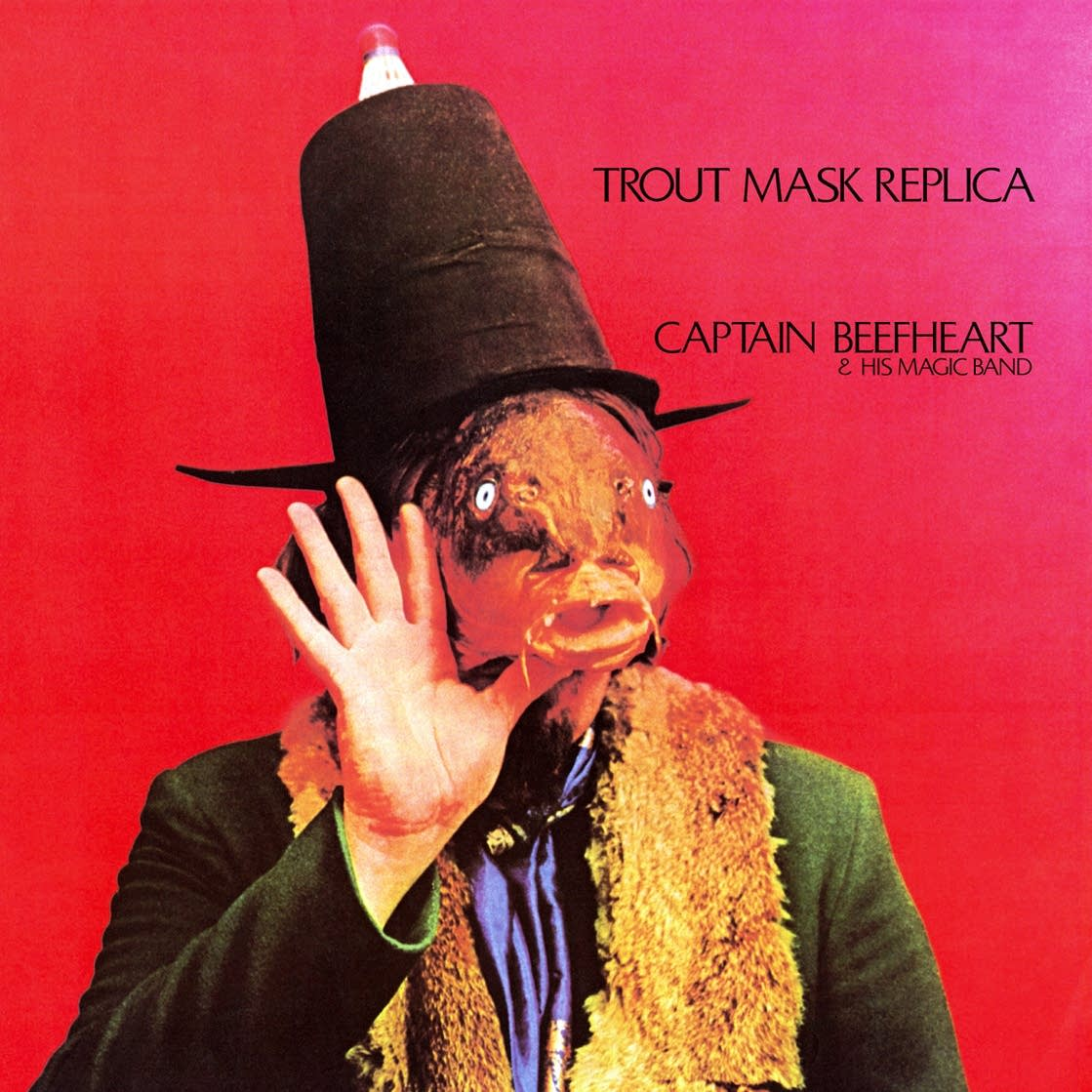Captain Beefheart's 'Trout Mask Replica' album cover.