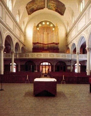 1895 Müller & Abel organ at Saint Joseph's Church, New York, NY