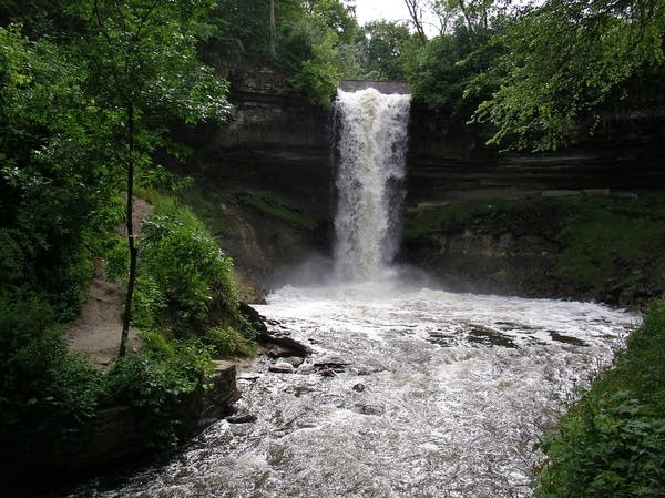 Minnehaha Falls in Minneapolis