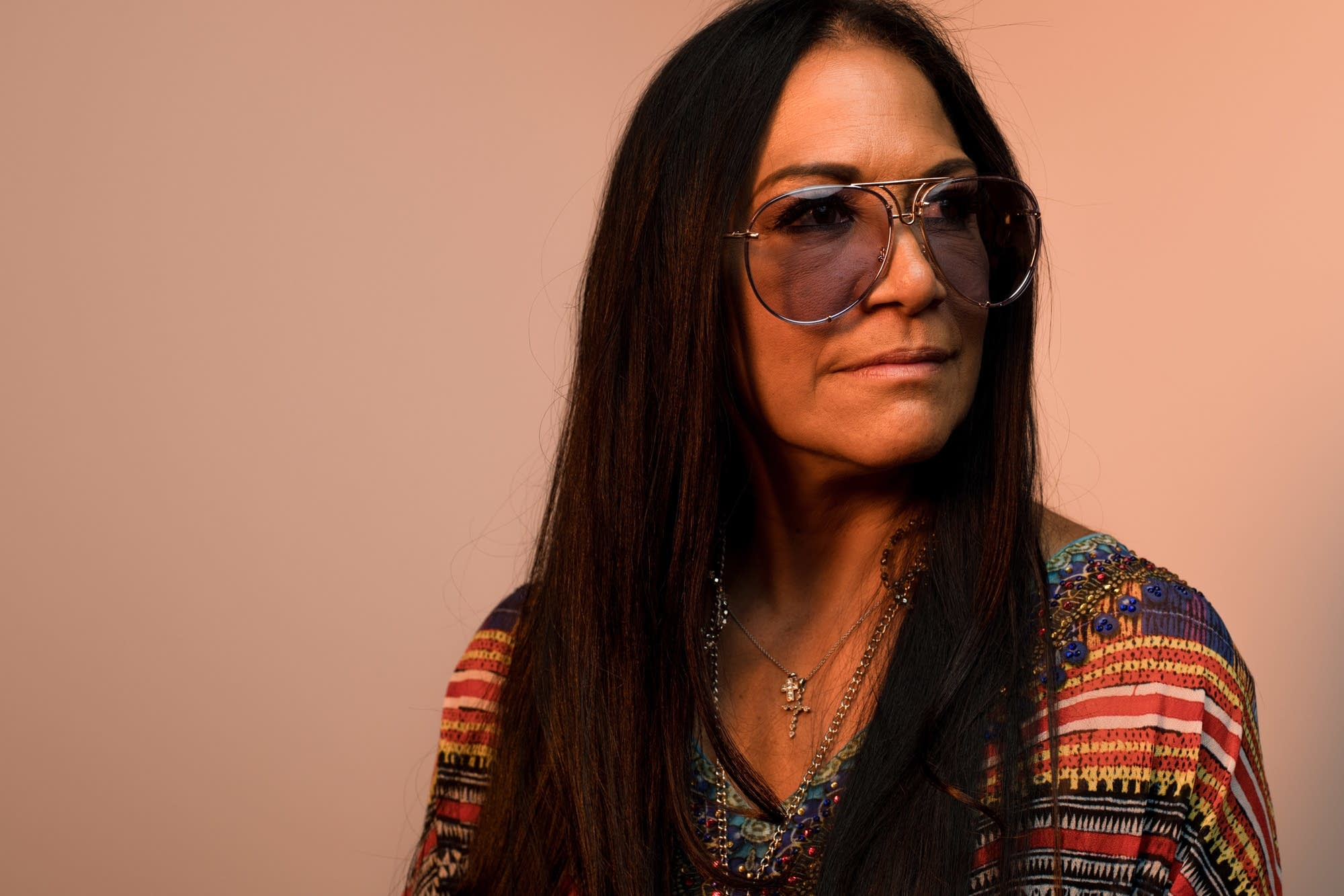 Sheila E. in the MPR studio