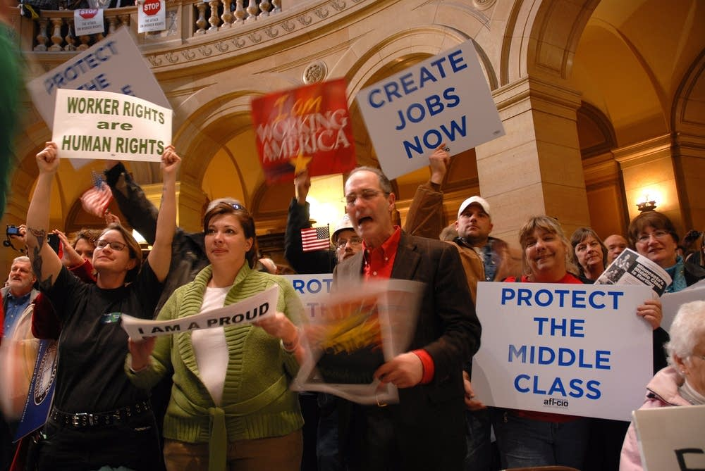Capitol labor rally