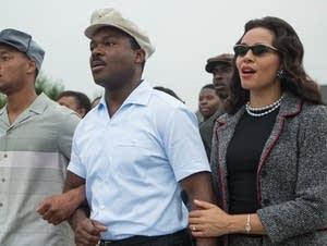 David Oyelowo, Carmen Ejogo in Selma