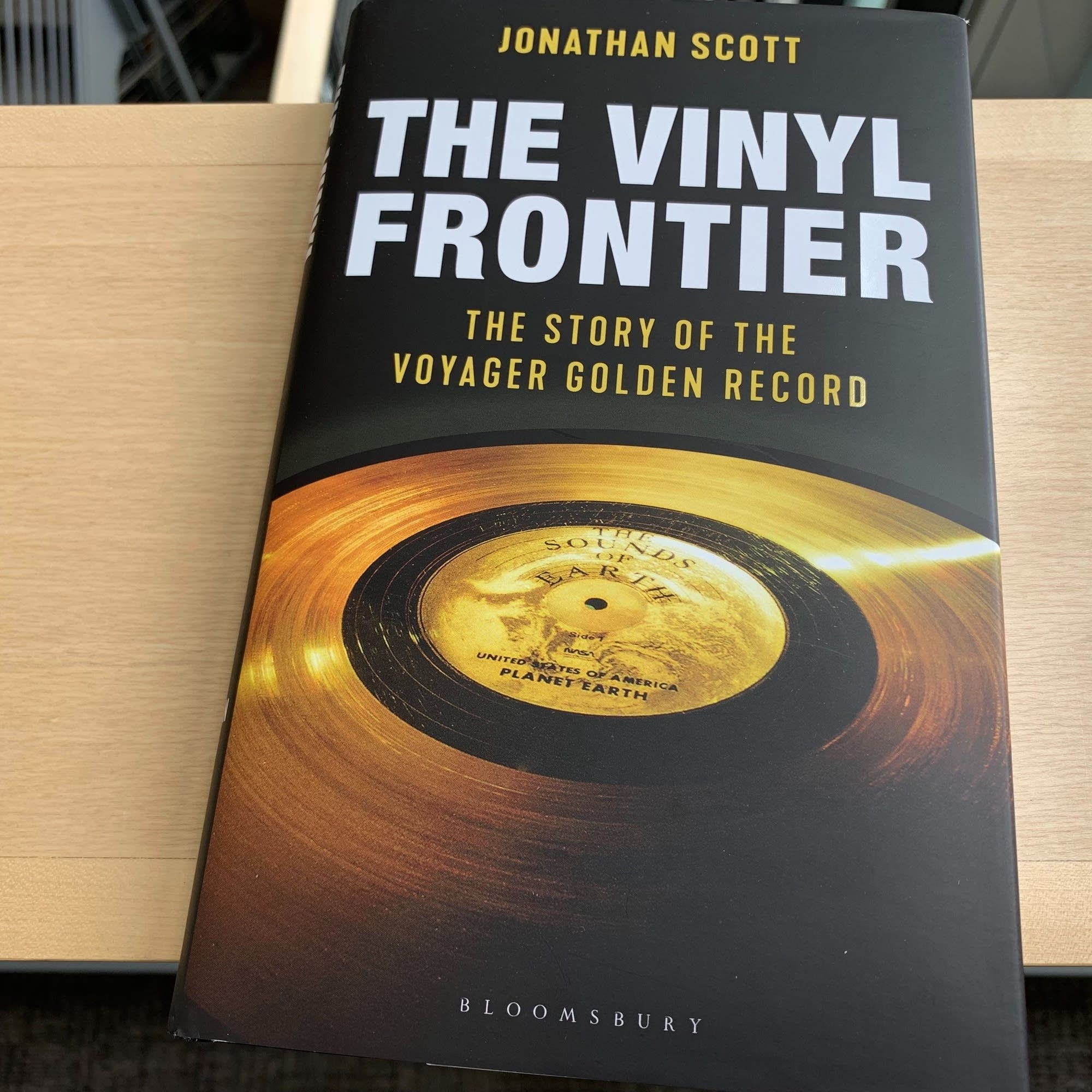 Jonathan Scott's 'The Vinyl Frontier.'