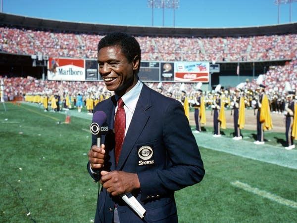 CBS pro football analyst Irv Cross