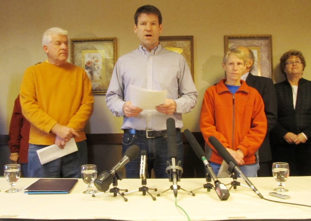 Union press conference