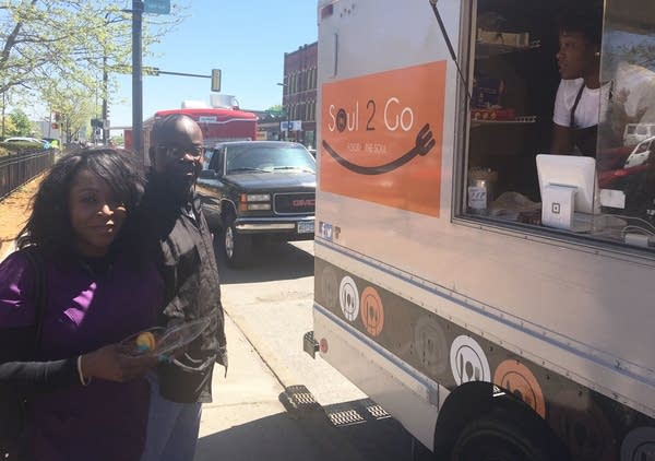 First food truck lane opens in north Minneapolis