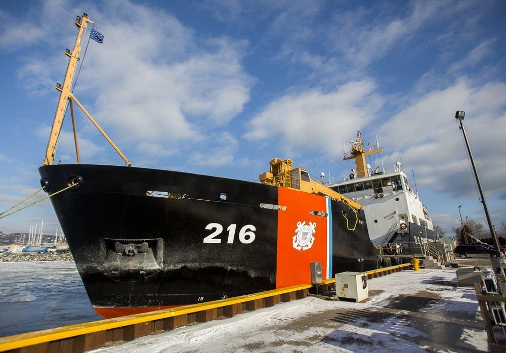Cutter Alder at dock
