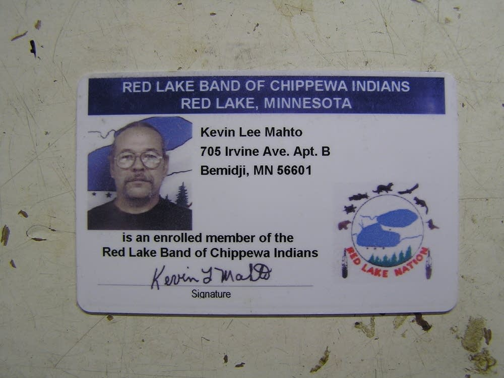 Tribal ID card