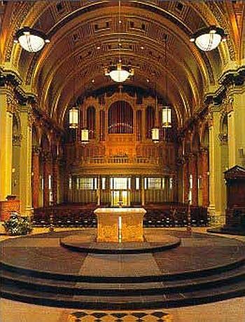 1907 Hutchings-Votey organ at Saint James' Cathedral, Seattle, Washington