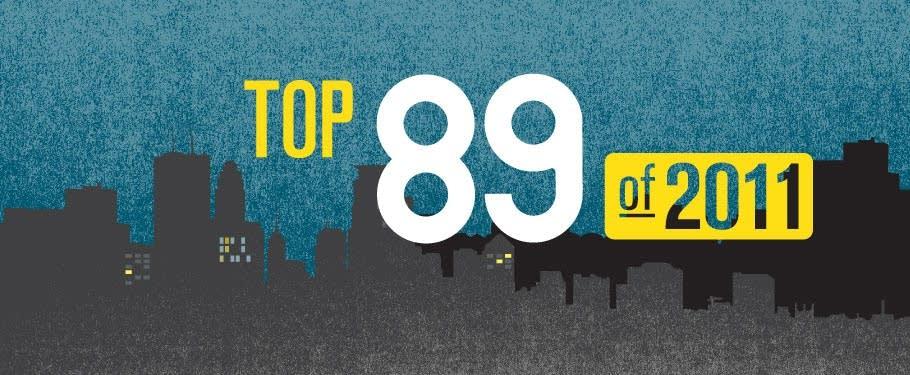 Top 89 of 2011