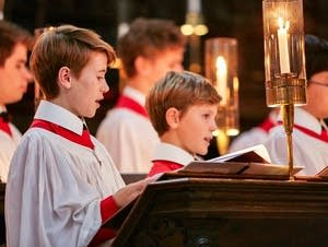 Choir of King's College, Cambridge.