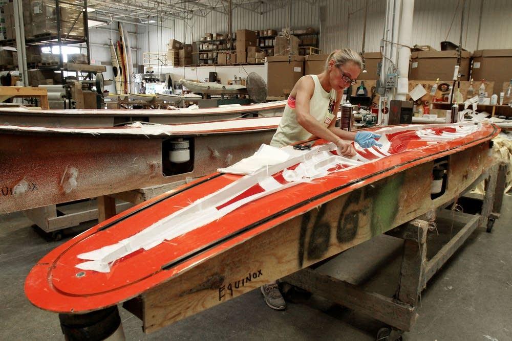 Making a kayak