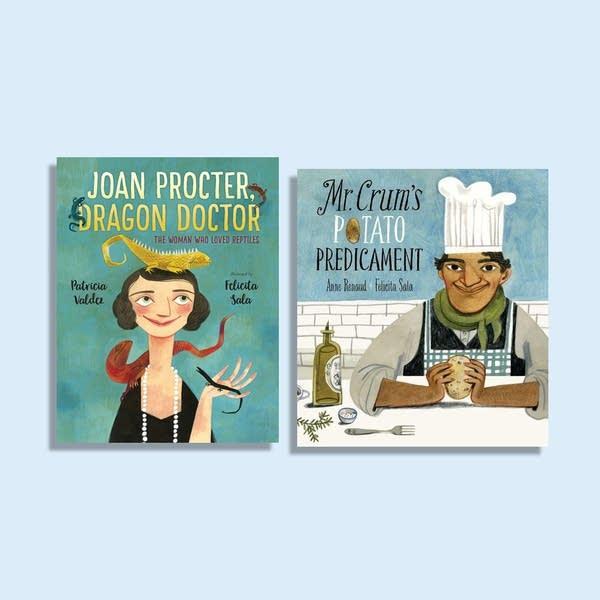 Julie's Library: Joan Procter & Mr. Crum's Potato Predicament