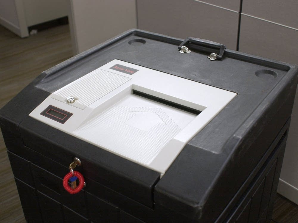 Ballot counting machine