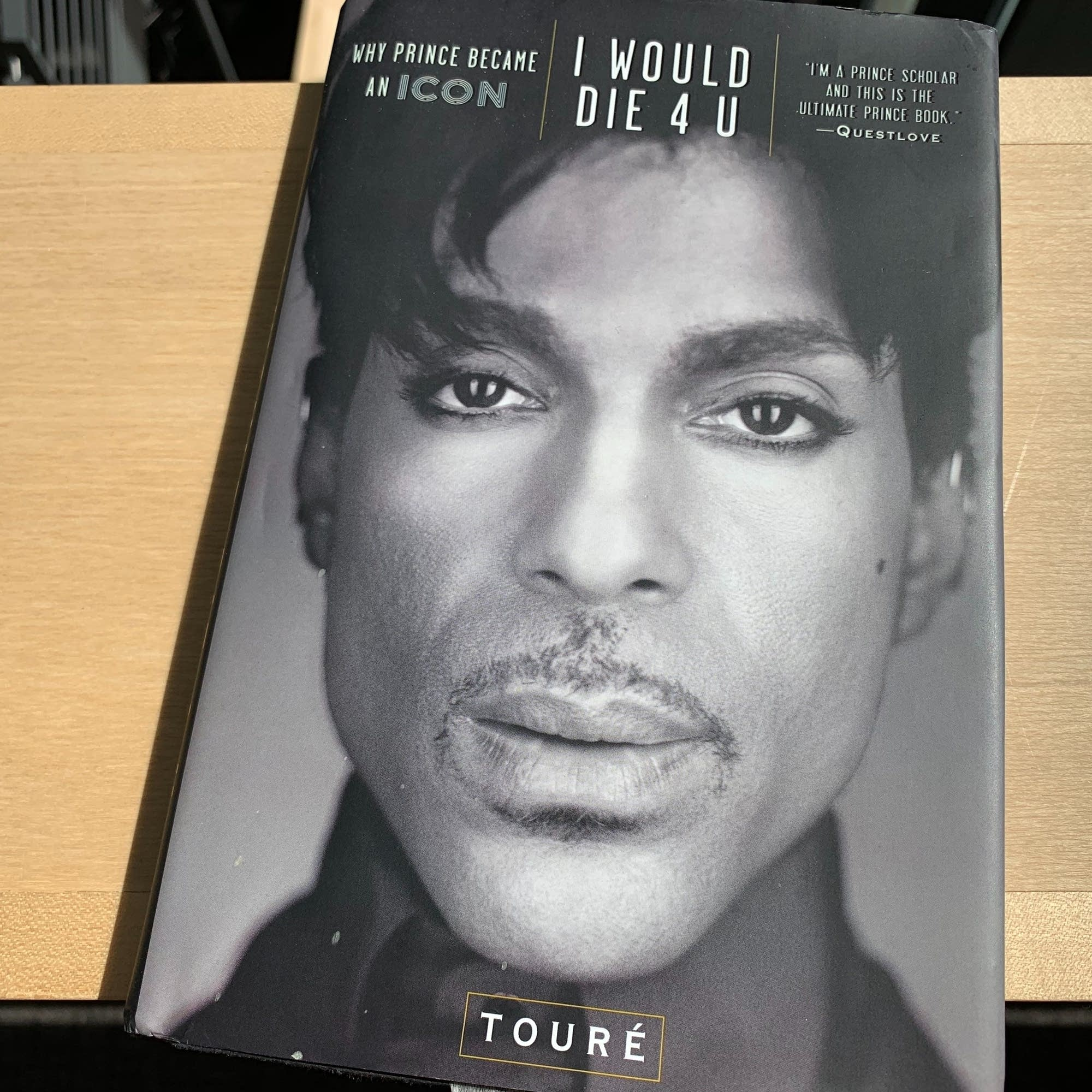 Toure's book 'I Would Die 4 U.'