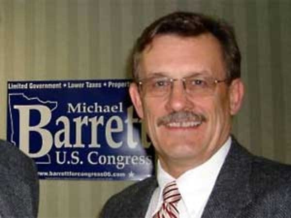 Republican candidate Michael Barrett