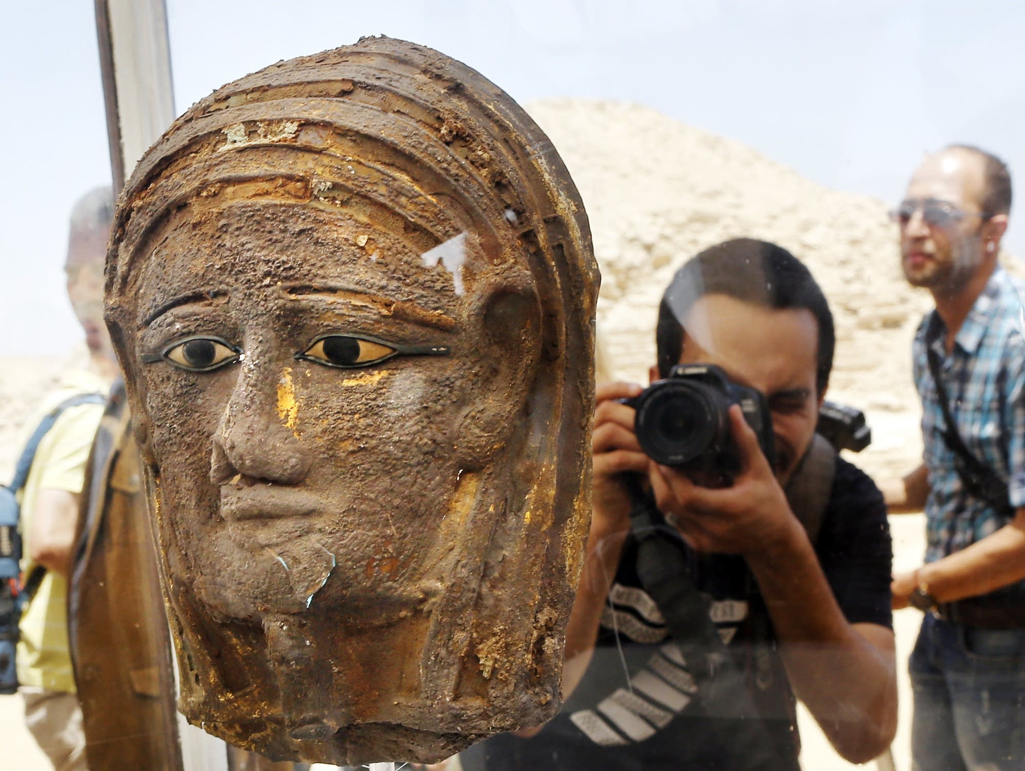 Image result for mummy shop discovered in cairo, egypt saturday the 14