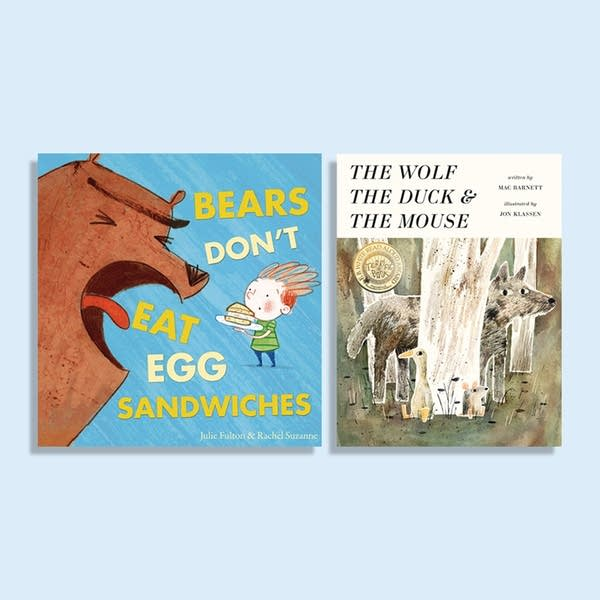 Julie's Library: Bears Don't Eat Egg Sandwiches and The Wolf, the Duck