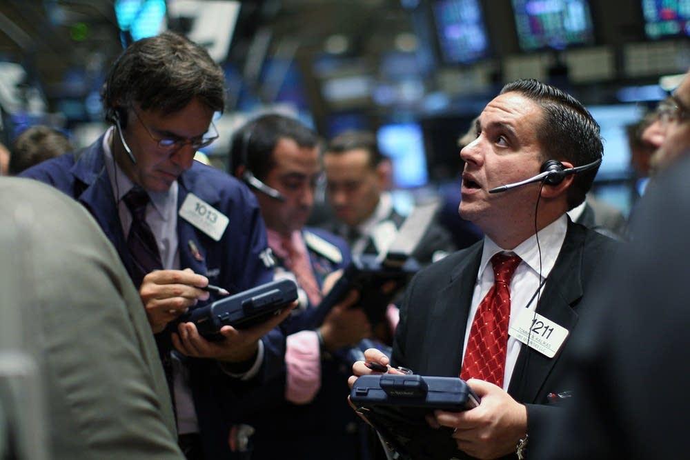 Stocks surge back