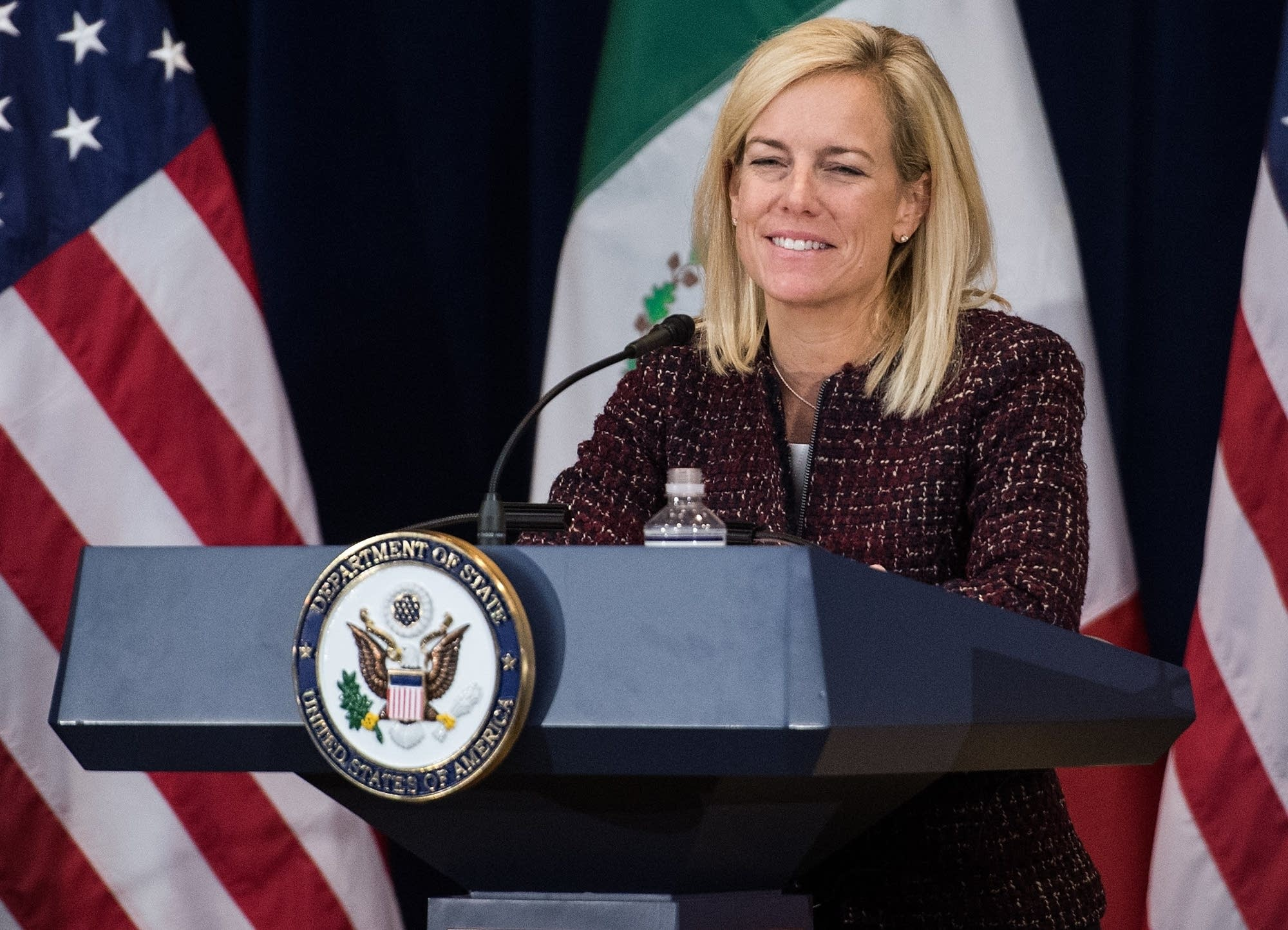 U.S. Homeland Security Secretary Kirstjen Nielsen.