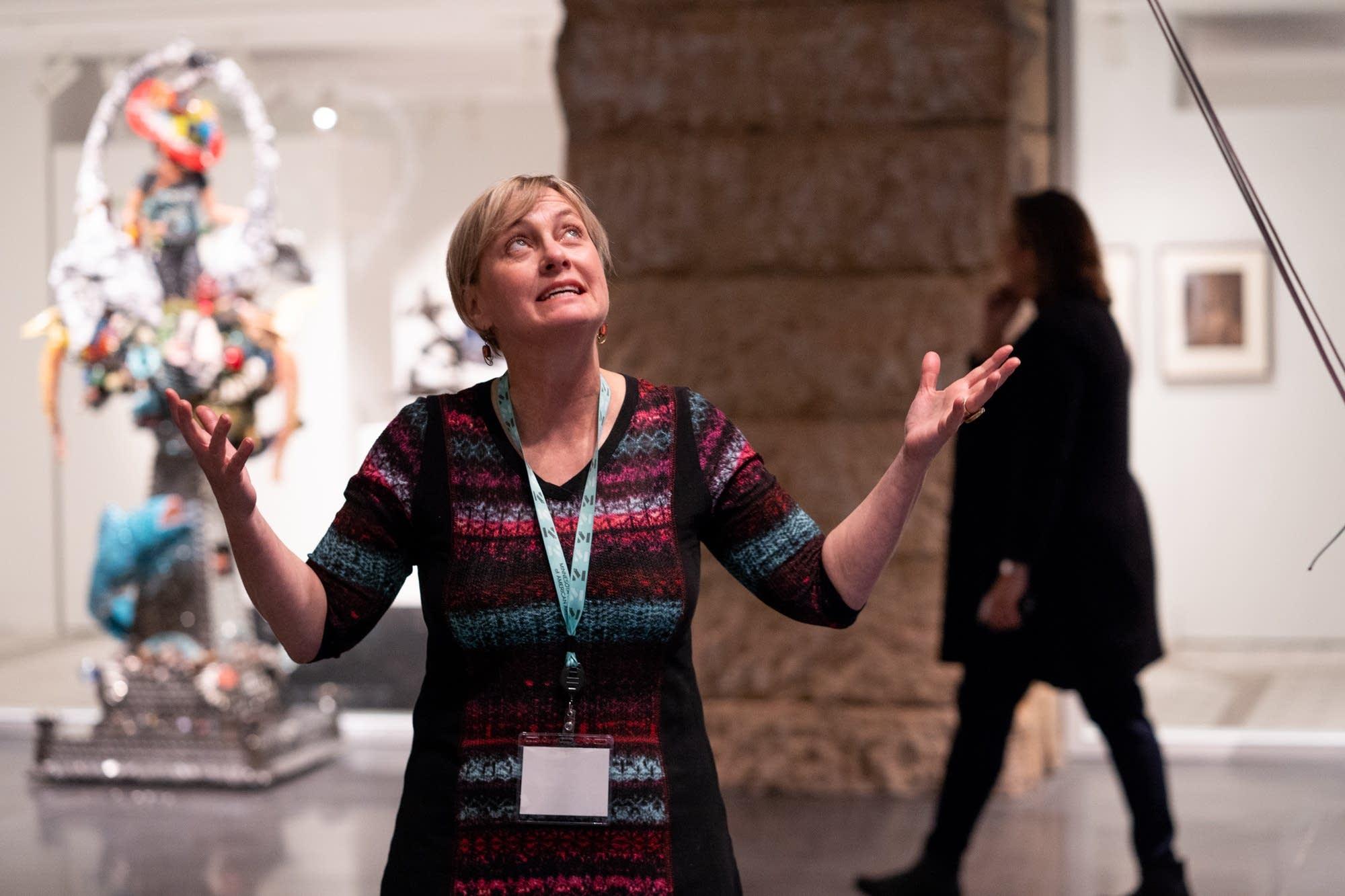 Minnesota Museum of American Art executive director Kristin Makholm.