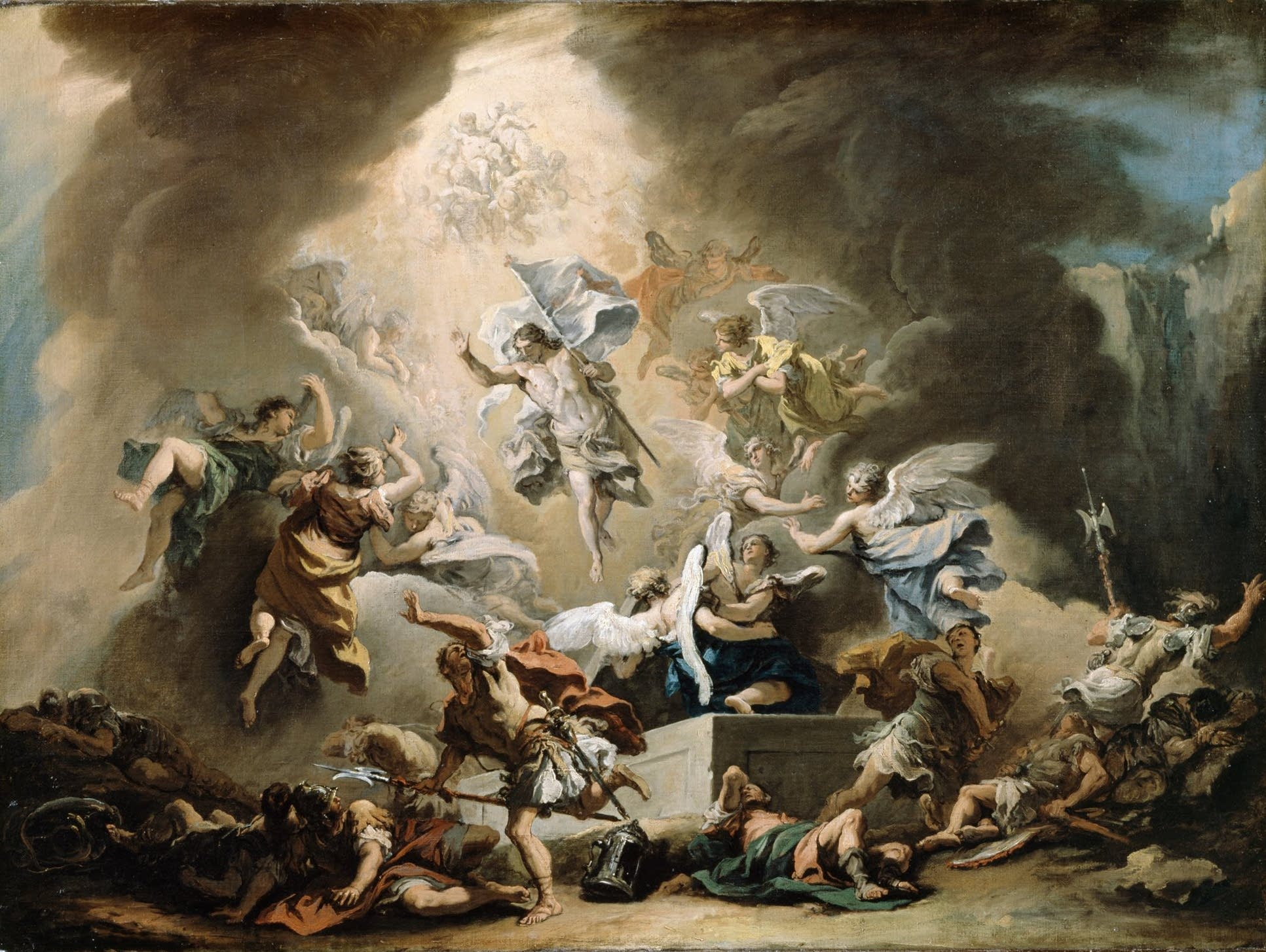 The Resurrection, Ricci Sebastiano