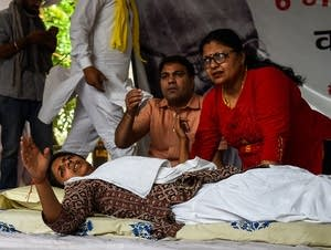 INDIA-POLITICS-RAPE-WOMEN-PROTEST