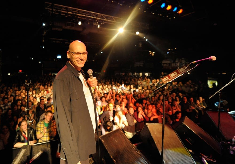 Mark Wheat onstage at First Avenue