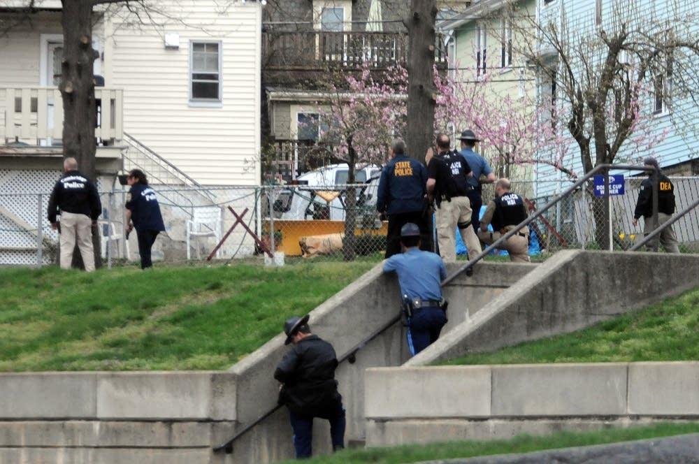 Bombing Suspect #2 In Custody