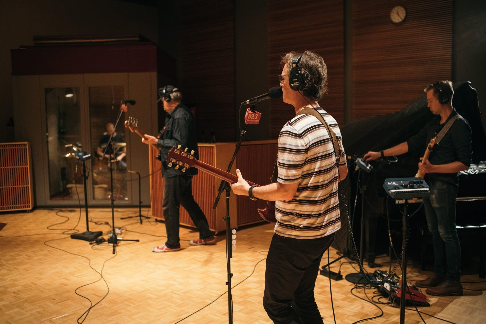 Semisonic in The Current studio