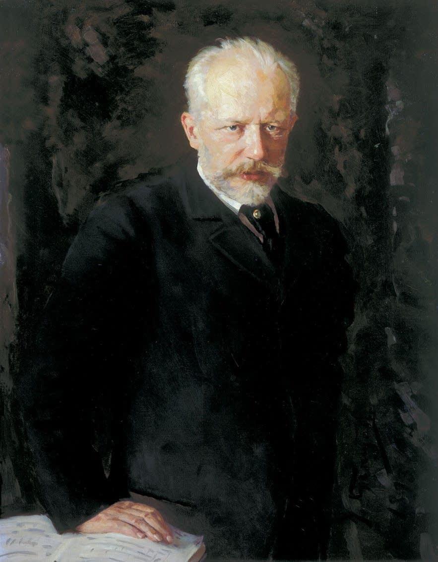 Pyotr Ilyich Tchaikovsky by Nikolay Kuznetsov