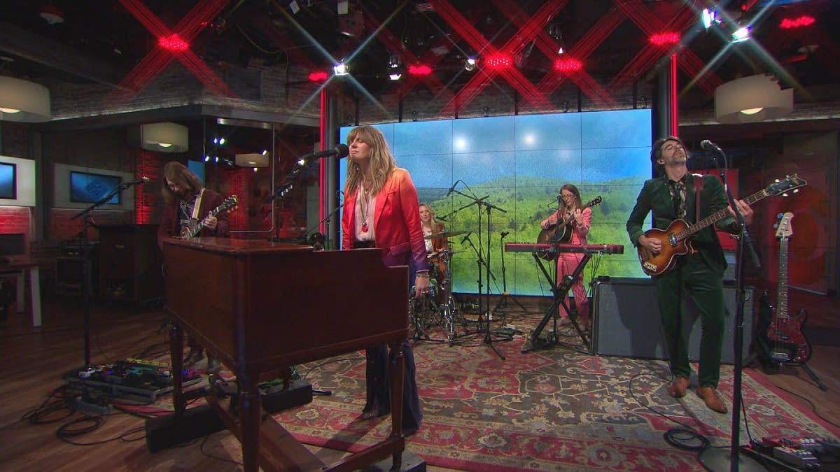 Grace Potter performs on 'CBS This Morning' Saturday Sessions