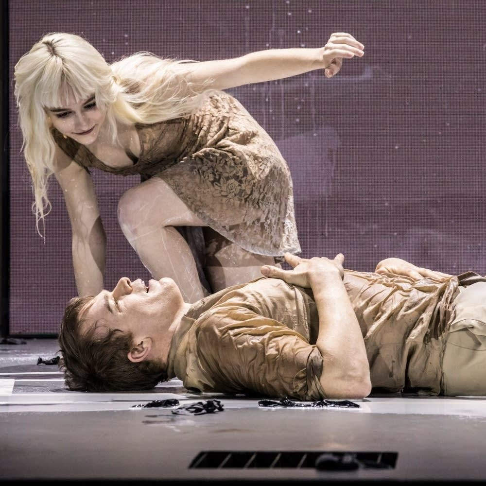 London production of 'Lazarus'