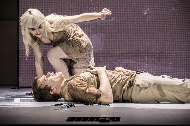London production of 'Lazarus'