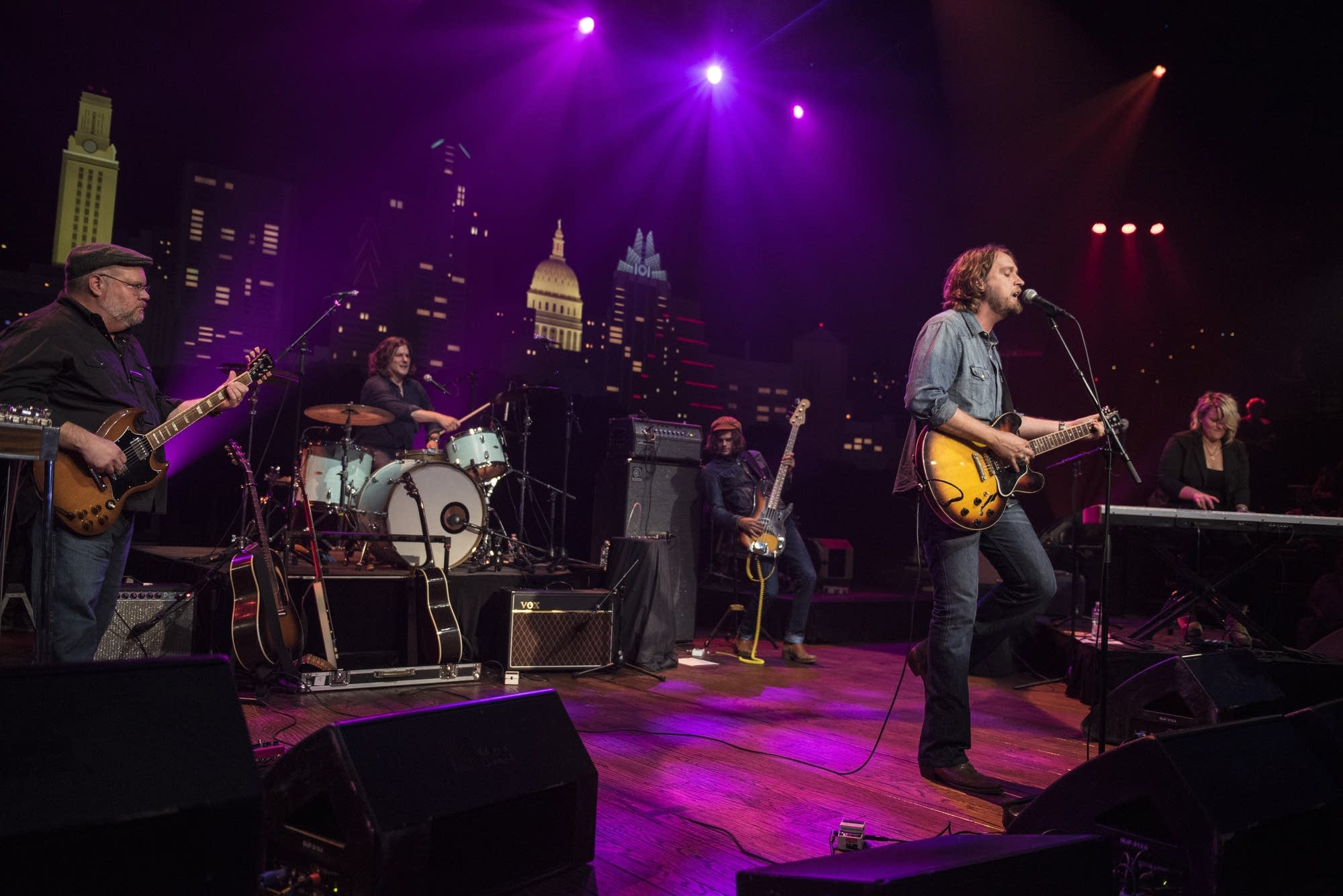 Hayes Carll performs on 'Austin City Limits' on PBS.