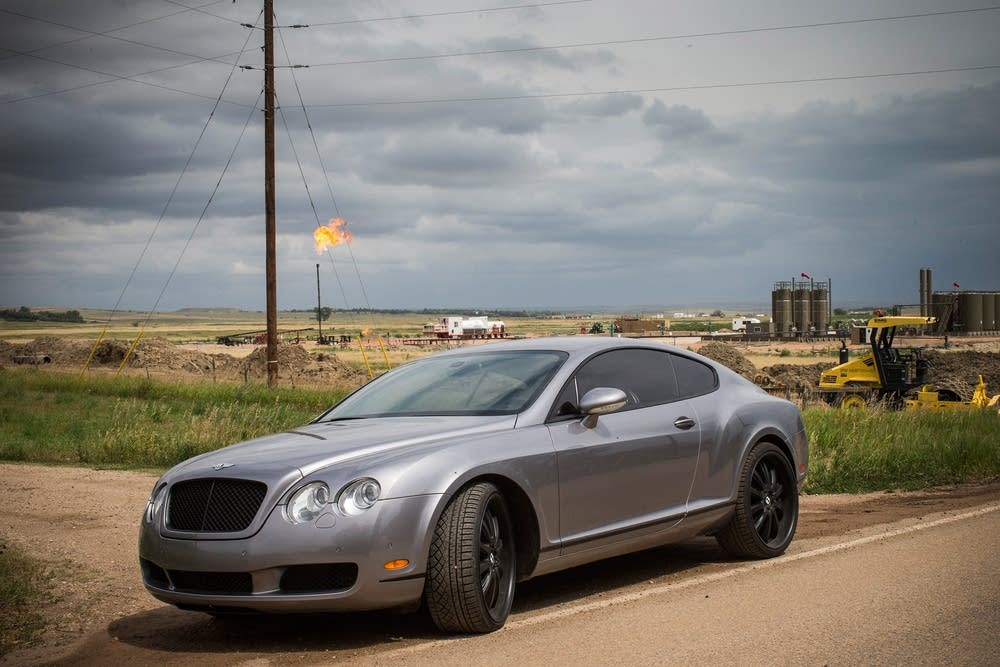 A Bentley Continental GT