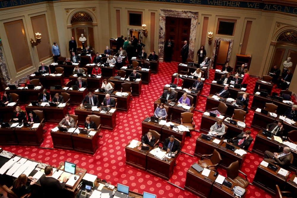 Senate floor