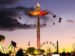 The mighty Midway at the state fair