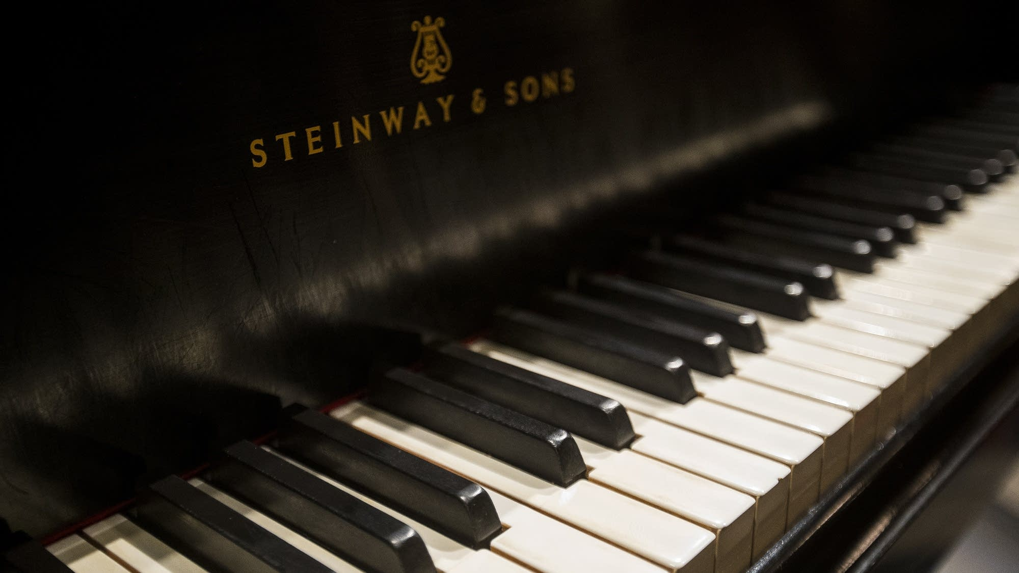 Hibbing High School's Steinway piano