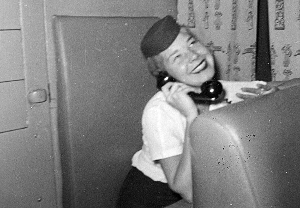 Stewardess communications panel