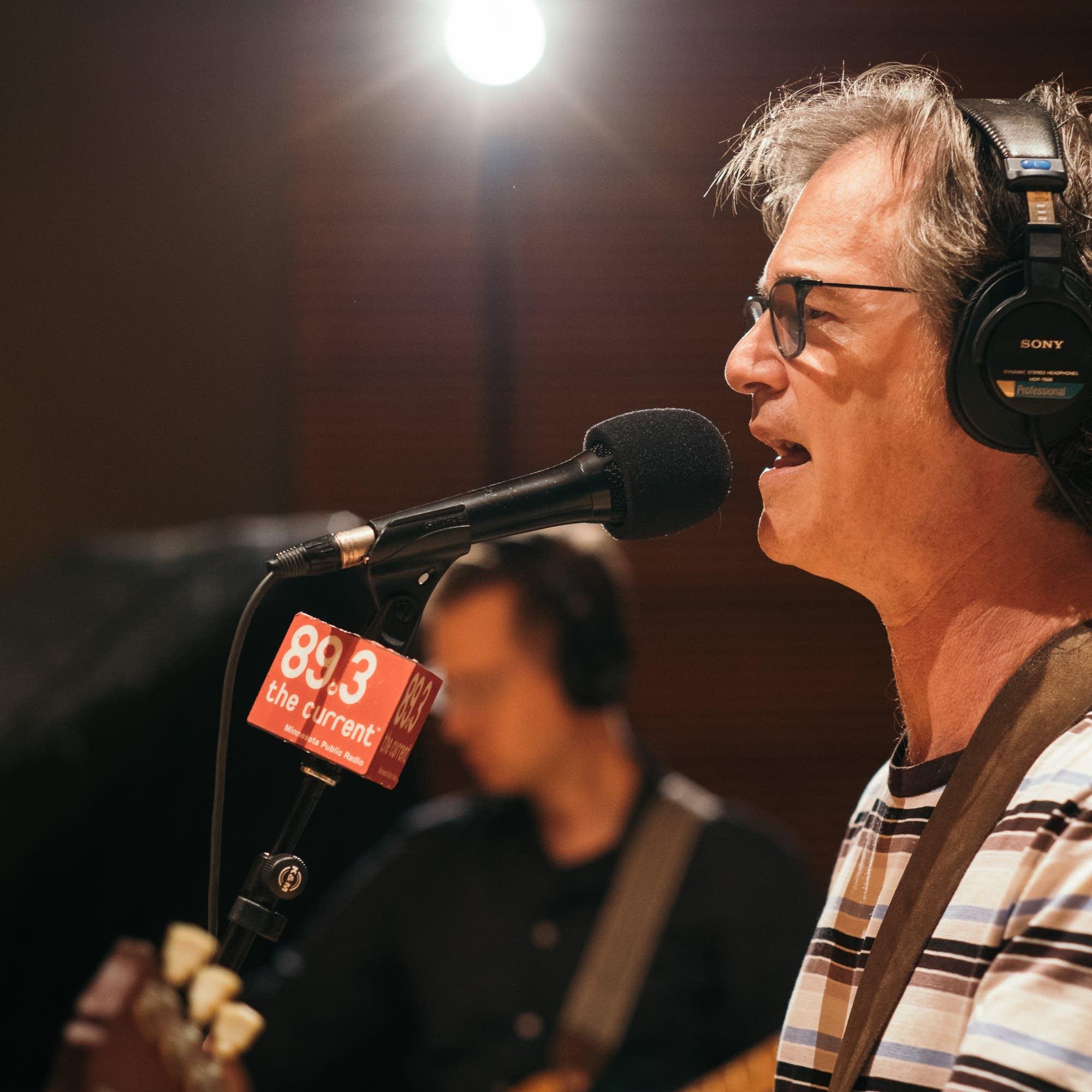 Semisonic in The Current studio.
