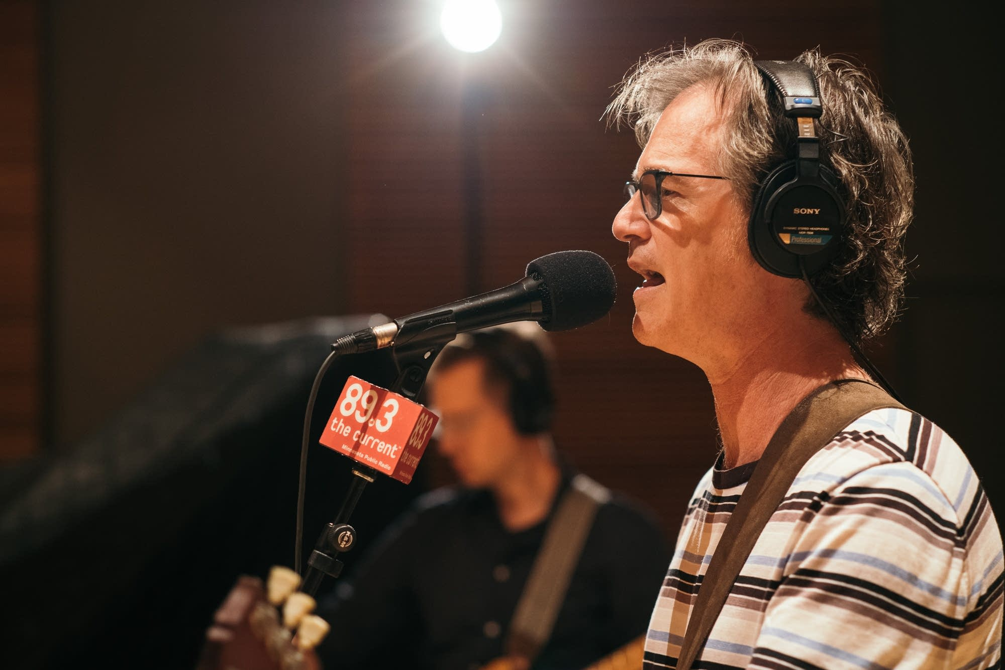 Semisonic in The Current studio.