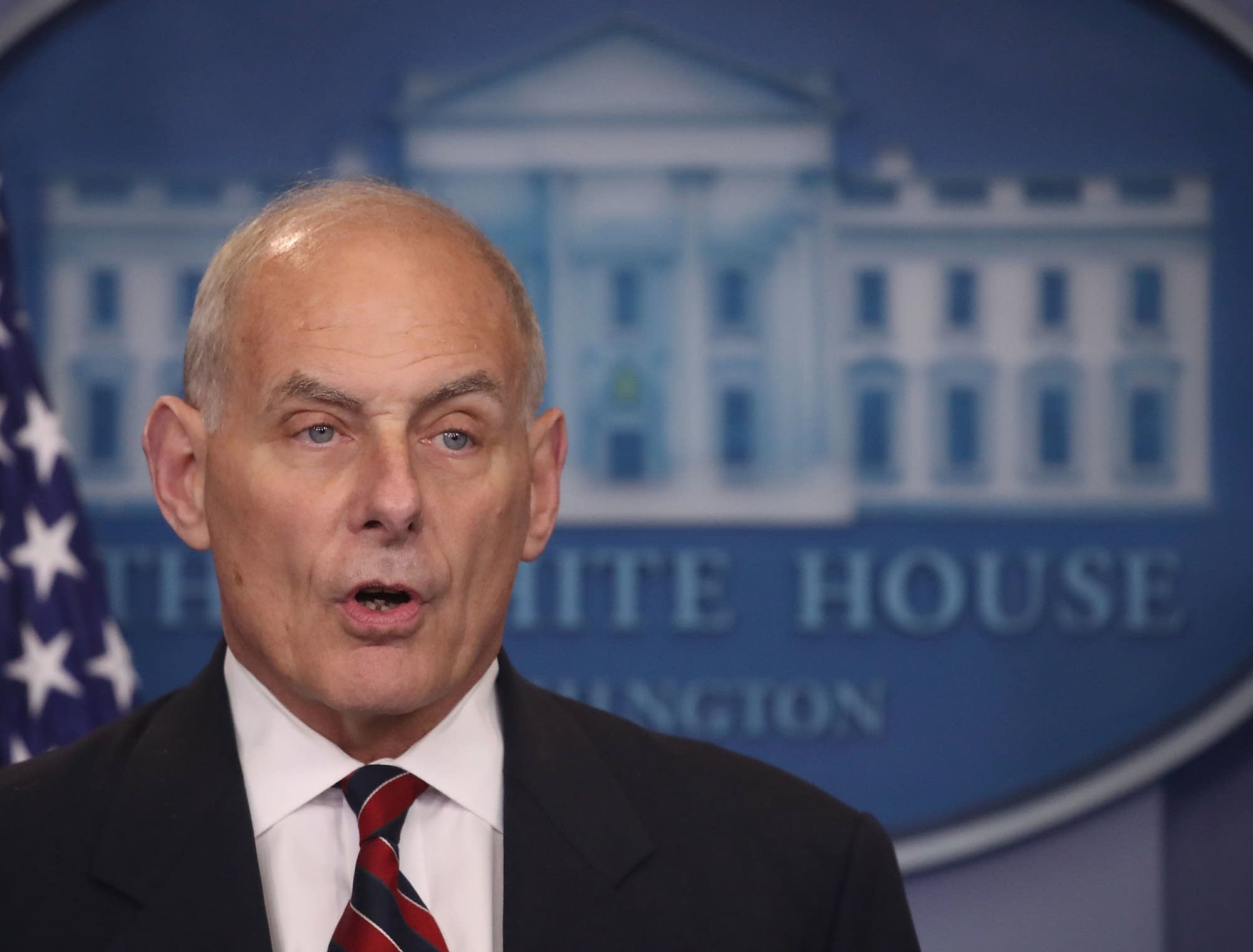 Kelly Wins Praise Across The Aisle But Bigger Task Is Ahead - Us zip code white house