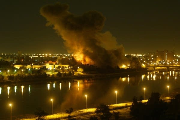 Baghdad bombed