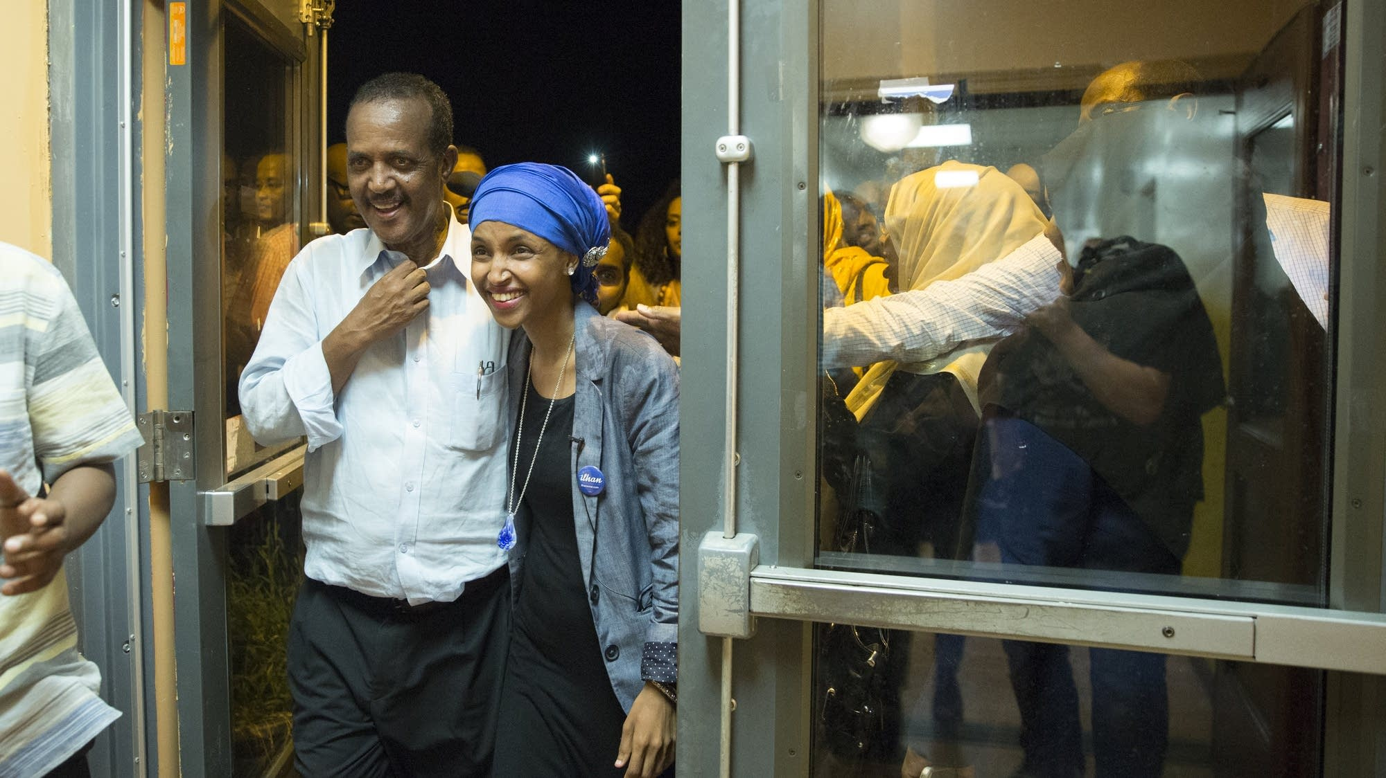 Photos: Ilhan Omar and supporters celebrate primary ...Ilhan Omar Primary