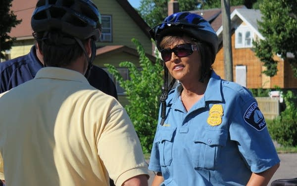 Minneapolis police chief Janee Harteau